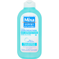 Lotion anti-imperfections Expert Peau Sensible MIXA, flacon de 200ml