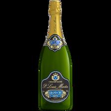 Champagne brut grand cru PAUL LOUIS MARTIN, 12°, bouteille de 1,5l