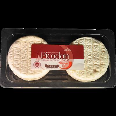 Picodon AOP, affinage 12 jours, au lait cru de chèvre, 26% Mat.Gr, 2x60g