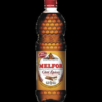 Condiment pour vinaigrette côté Epices MELFLOR, 3,8°, bouteille de 1l