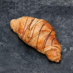 Croissant fourré cacao/noisette, 1 pièce, 75g