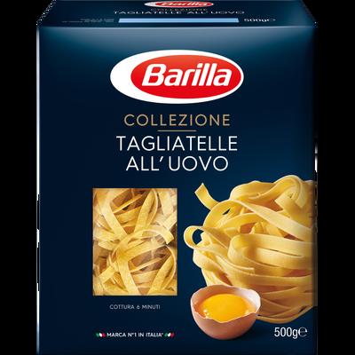Tagliatelles aux oeufs La Collezione BARILLA, étui de 500g