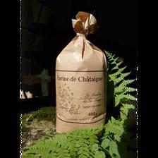 Farine de châtaigne de Charente sans gluten du MOULIN DE LA FORGE, 350g