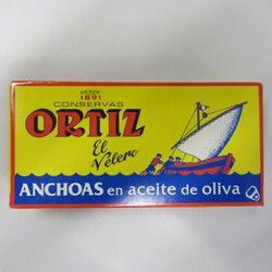ANCHOIS A L'HUILE OLIVE 47,5G - ORTIZ