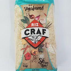 Riz parfumé CRAF, le paquet de 1Kg