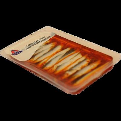 Filet d'anchois à l'orientale EST FRITURE, barquette de 125g