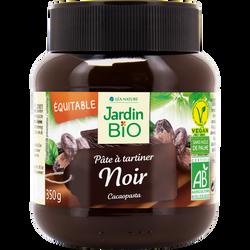 Pâte a tartiner noir forte en cacao JARDIN BIO, 350g