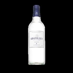 Eau minérale plate ABATILLES, bouteille en verre 75cl