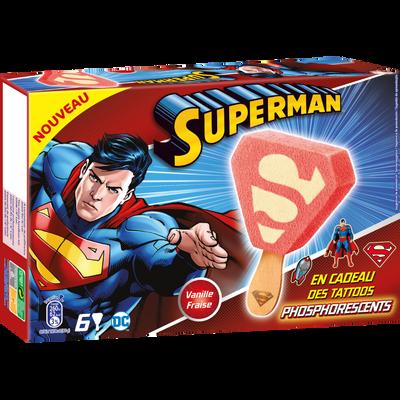 WARNER Superman, 6 bâtonnets soit 225g