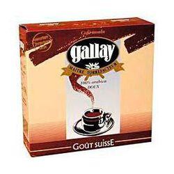 Café goût Suisse GALLAY FOLLIET CAFES, 2X250g