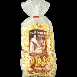 Nuddle laminées à l'ancienne cuisson 5min VALFLEURI, paquet de 500g
