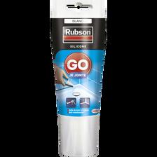 Mastic GO JE JOINTE RUBSON, sanitaire, 50ml, blanc