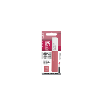 Superstay matte ink pinks 155 savant blister MAYBELLINE