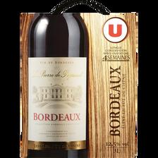 Vin rouge AOC Bordeaux fût de Chêne La Pierre de Peyssard U, fontaineà vin de 3l