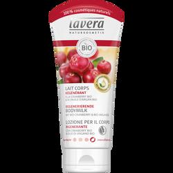 Lait pour le corps régénérant à la cranberry et à l'huile d'argan bioLAVERA, tube de 200ml