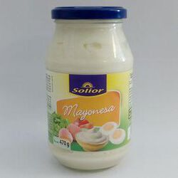 MAYONNAISE 470G SOLIOR