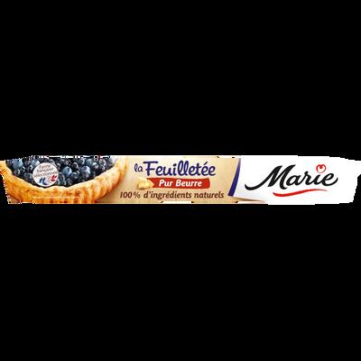 Pâtes à tarte feuilletées pur beurre MARIE, 230g