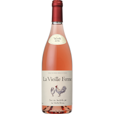 Vin rosé Lubéron AOP LA VIEILLE FERME, bouteille de 75cl