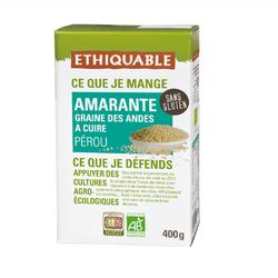 Graines amarantes Pérou BIO ETHIQUABLE 400g