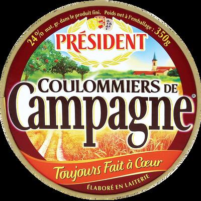 Coulommiers de campagne Président, 23%MG, 350g