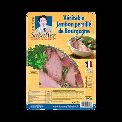 Jambon persillé de Bourgogne tranche 200g environ