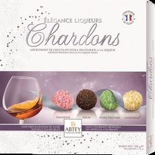 Abtey Chocolats Assortis À La Liqueurs Élégance Chardons , Boite De 16 Unités, 220g