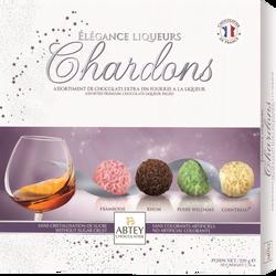 Chocolats assortis à la liqueurs élégance Chardons ABTEY, x16, 220g