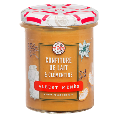Confiture de lait à la clémentine ALBERT MENES, 270 g