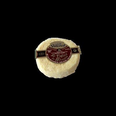 Fromage de chèvre lait thermique Délice du Ministre 30% VALCREST, 80g