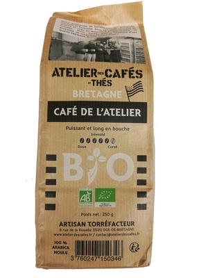 CAFE MOULU DE L'ATELIER BIO 250g