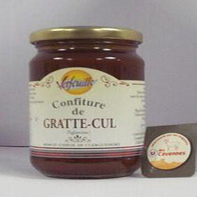 Confiture d'Eglantine GRATTE CUL  des Cevennes VERFEUILLE, 360g