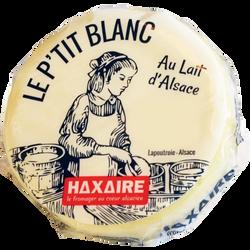 From.fr.d'Alsace le p'tit blanc lait pasteurisé, 24%MG, HAXAIRE 220g