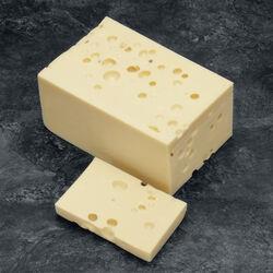 Emmental français 1er choix pâte pressée cuite lait pasteurisé 29%mg
