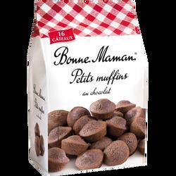 Les petits muffins au chocolat BONNE MAMAN, 235g