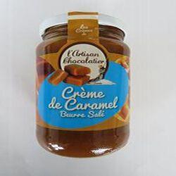 Crème de caramel beurre salé, 440gr, pot, Les crèmes de l'artisan chocolatier