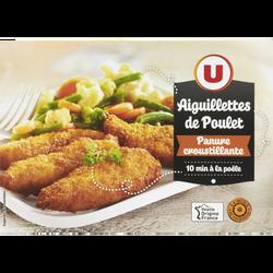 Aiguillette de poulet panure croustillante, U, France, 200g
