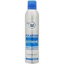 Nestlé Spray Coiffant Fixation Extrême By U, Bombe 250ml