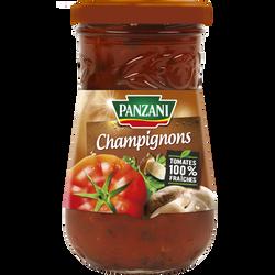 Sauce tomate aux champignons des bois PANZANI, 210g