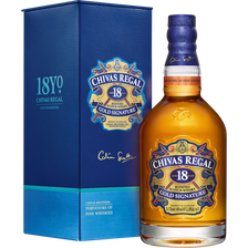 Chivas Regal Scotch Whisky Blended , 40°, 18 Ans D'âge, 70cl