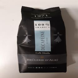 CAFE MOULU DECAFEINE PQ 250G