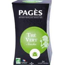 Thé vert doux Bio PAGES