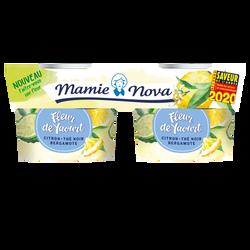 Yaourt thé noir citron bergamote MAMIE NOVA, 2x115g