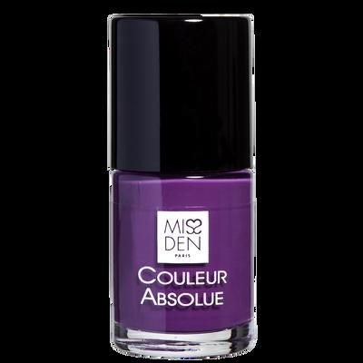 Vernis couleur absolue violet velvet 088 MISS DEN, nu