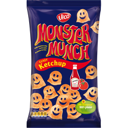 MONSTER MUNCH goût Ketchup, 85g