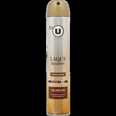 Laque lumière cheveux brun BY U, 300ml