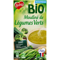 Soupe mouliné de légumes verts bio LIEBIG, 1l