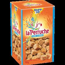 Sucre en morceaux Perruche Ambré BEGHIN SAY, boîte de 750g