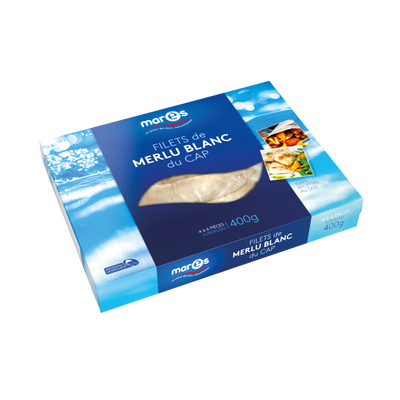 Filet de merlu blanc du Cap MARES, 400g