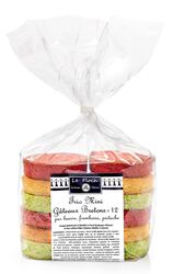 Trio de mini gâteaux bretons x12 LE FLOCH, 300g