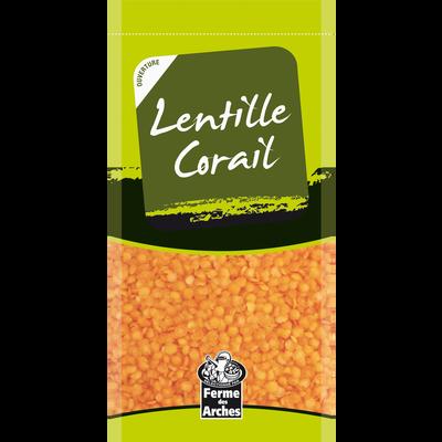 Lentille corail, sachet 500g